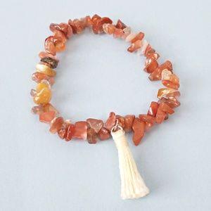 Free People Tassel Bracelet